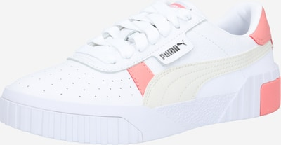 PUMA Sneaker in pfirsich / weiß / wollweiß: Frontalansicht