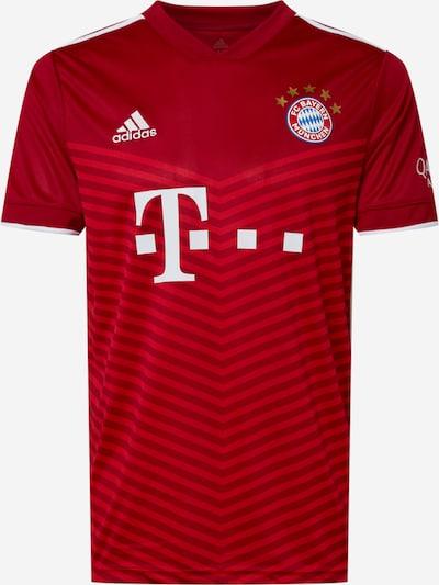 ADIDAS PERFORMANCE Trikot 'Bayern München' in rot / weiß, Produktansicht