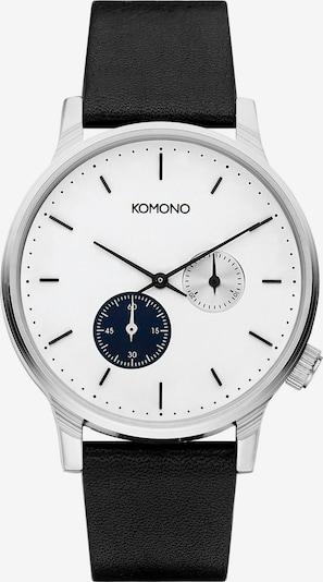 Komono Uhr in schwarz, Produktansicht