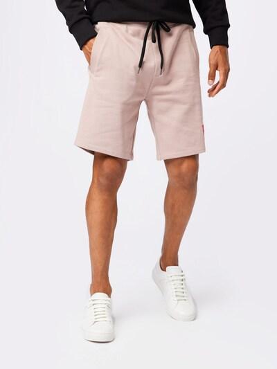 HUGO Kalhoty 'Diz' - světle růžová / červená, Model/ka