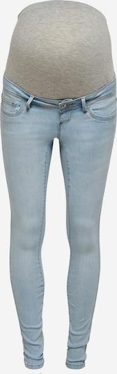 Only Maternity Jeans 'Wauw' in hellblau / grau, Produktansicht