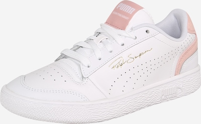 PUMA Baskets basses en rose / blanc, Vue avec produit
