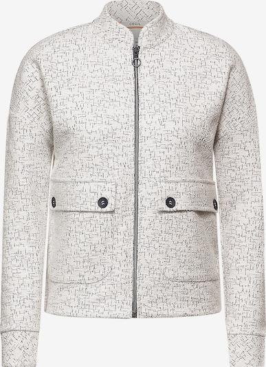 CECIL Jacke in schwarz / weiß, Produktansicht