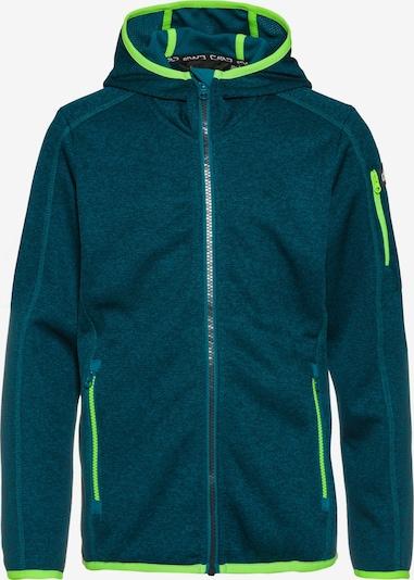 CMP Fleecejacke in smaragd, Produktansicht