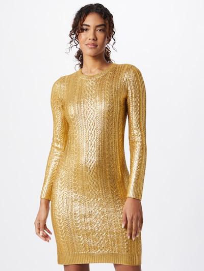 Rochie tricotat 'KOZINA' Lauren Ralph Lauren pe auriu: Privire frontală