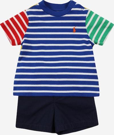 Set POLO RALPH LAUREN pe albastru / galben / verde / roșu / alb, Vizualizare produs