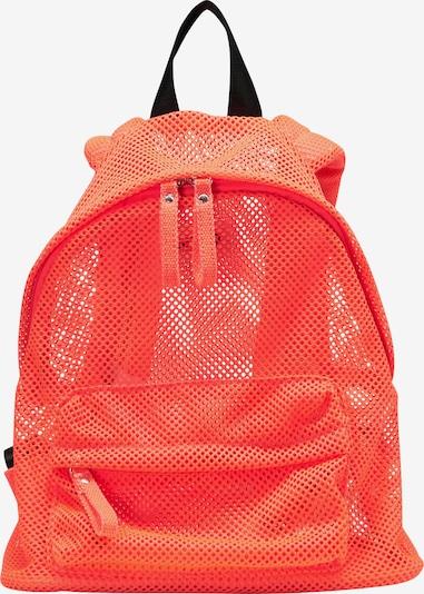 myMo ATHLSR Sac à dos de sport en orange fluo, Vue avec produit