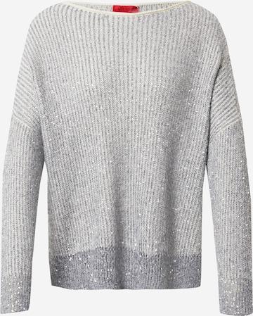 MAX&Co. Pullover 'PRALINA' in Grau