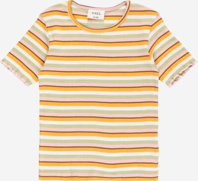 D-XEL Shirt 'ZABINE 979' in braun / pastellgrün / hellorange / hellpink / weiß, Produktansicht
