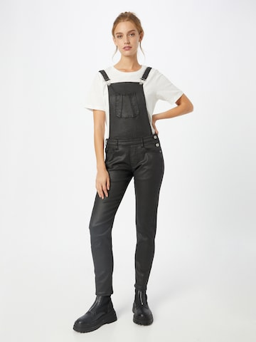 Le Temps Des Cerises Tuinbroek jeans 'FALI' in Zwart