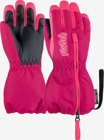 REUSCH Fingerhandschuhe 'Tom' in Pink