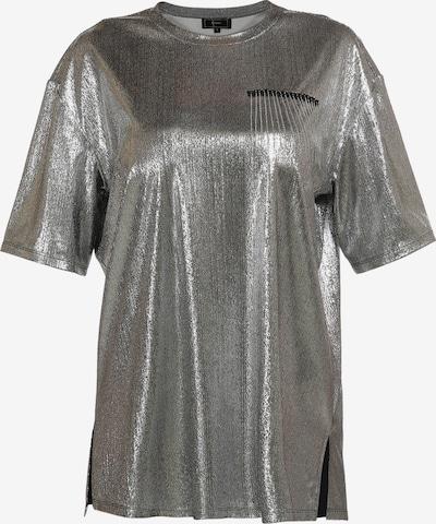 faina Shirt in schwarz / silber, Produktansicht