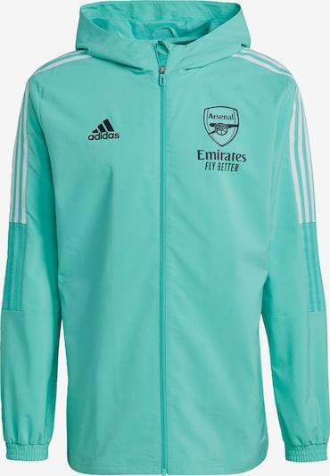 ADIDAS PERFORMANCE Sportjas 'FC Arsenal Tiro' in de kleur Jade groen / Zwart / Wit, Productweergave