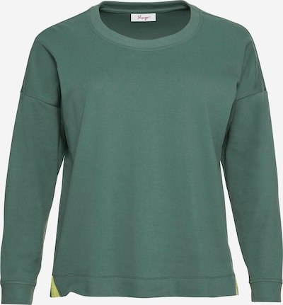 SHEEGO Sweatshirt in grün, Produktansicht