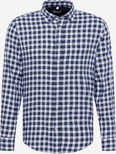 SEIDENSTICKER Button Up Shirt in Navy / White, Item view