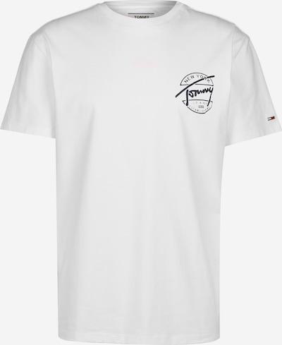 Tommy Jeans Shirt in de kleur Zwart / Wit: Vooraanzicht