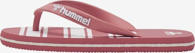 Hummel Beach & Pool Shoes in Red / White, Item view