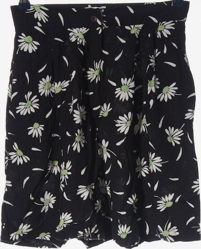 Miss H. High-Waist-Shorts in M in grün / schwarz / weiß, Produktansicht