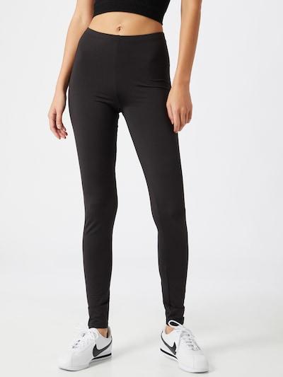 ONLY Leggings 'Aria' in dunkelgrau / schwarz, Modelansicht