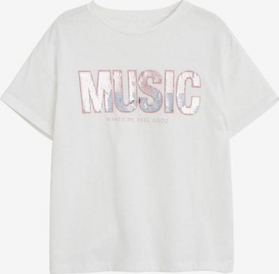 MANGO KIDS Majica u boja pijeska: Prednji pogled