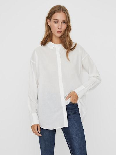 AWARE by Vero Moda Hemd in weiß, Modelansicht