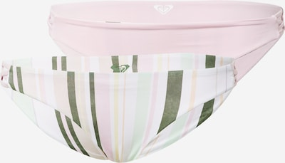 ROXY Bikinibroek 'SEA & WAVES REVO' in de kleur Pasteelgeel / Kaki / Pastelgroen / Rosa / Wit, Productweergave