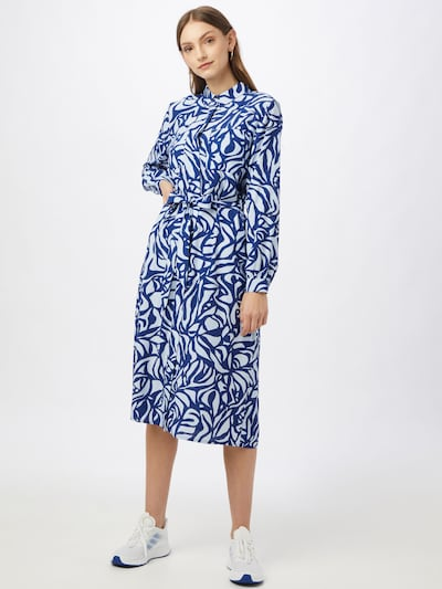 STREET ONE Kleid in blau / rauchblau, Modelansicht