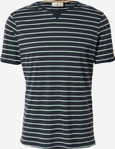 Fli Papigu T-Shirt in dunkelblau / mint, Produktansicht