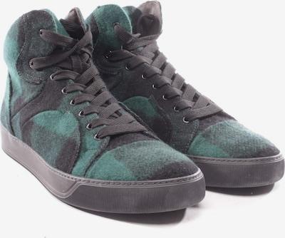 Lanvin High-Top Sneaker in 39 in dunkelgrün / schwarz, Produktansicht