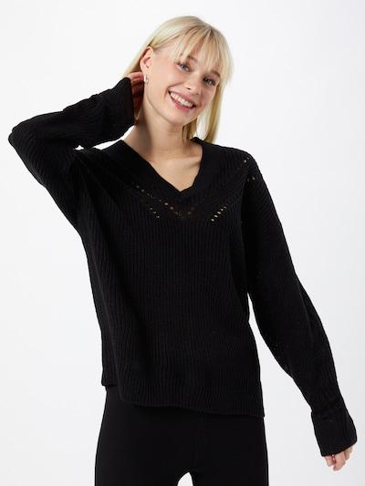 JACQUELINE de YONG Tröja 'AGNES' i svart, På modell