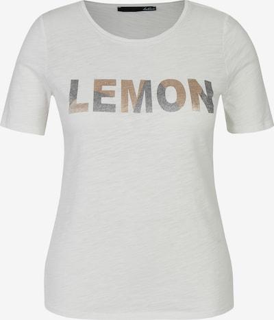 Lecomte Shirt in beige / grau / grün, Produktansicht