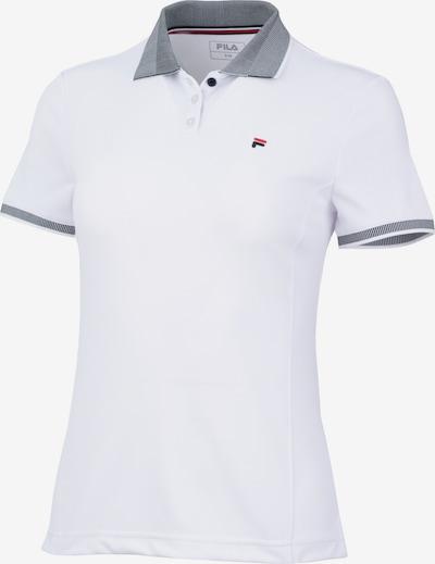 FILA Poloshirt in nachtblau / weiß, Produktansicht