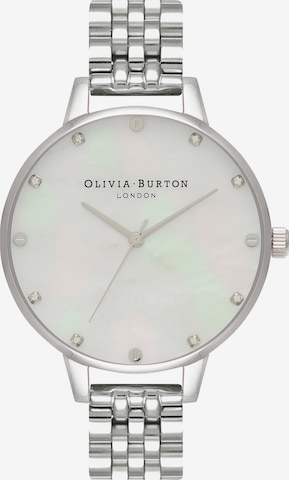 Olivia Burton Analoguhr in Silber