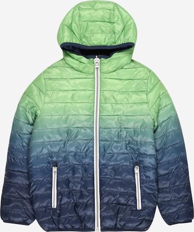 OVS Veste mi-saison en bleu marine / bleu nuit / vert clair / blanc, Vue avec produit