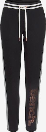 BENCH Hose in bronze / schwarz / weiß, Produktansicht