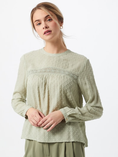 ONLY Bluse 'ONLPELIA' in pastellgrün, Modelansicht