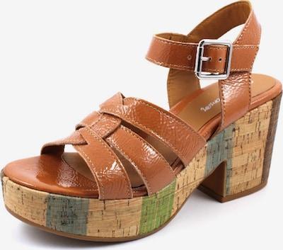 Alpe Sandale in braun, Produktansicht