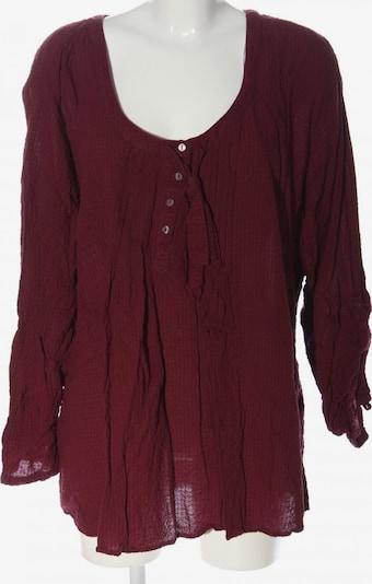 Janina Langarm-Bluse in 8XL in pink, Produktansicht