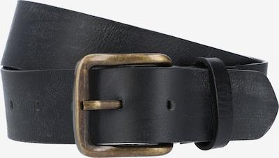 Gusti Leder Ledergürtel 'Braun Kristan' in schwarz, Produktansicht