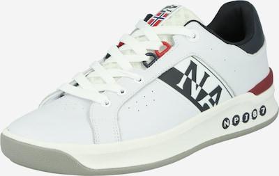 NAPAPIJRI Sneaker in dunkelblau / rot / weiß, Produktansicht