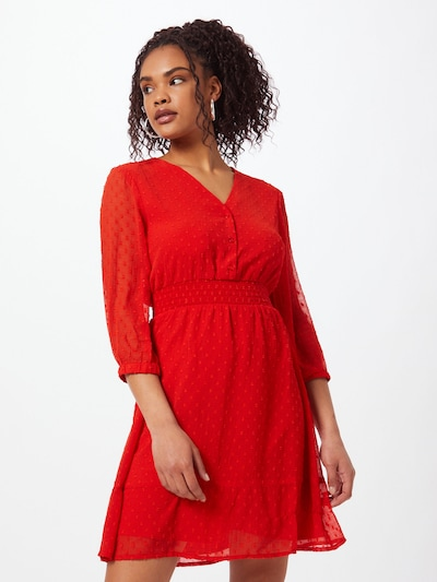 ABOUT YOU Košilové šaty - červená, Model/ka