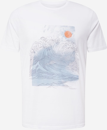 ARMEDANGELS T-shirt 'JAAMES' i vit