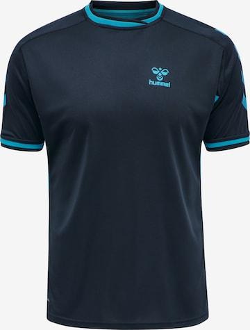 Hummel Shirt in Blau