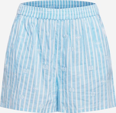 River Island Plus Pyžamové kalhoty - světlemodrá / bílá, Produkt