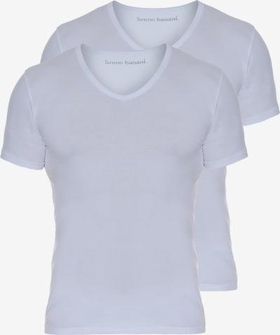 BRUNO BANANI T-Shirt in weiß, Produktansicht