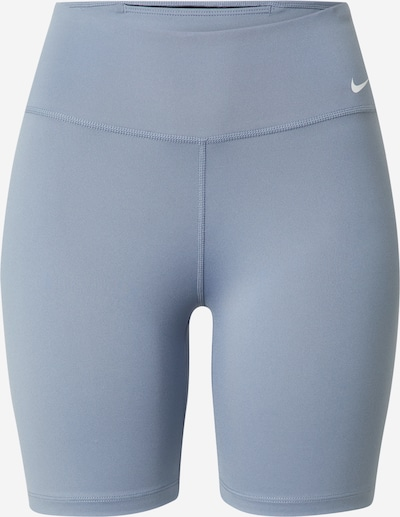 NIKE Sportbroek in de kleur Opaal / Wit: Vooraanzicht