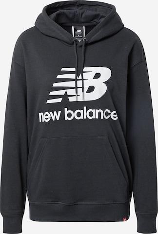 new balance Sweatshirt in Schwarz