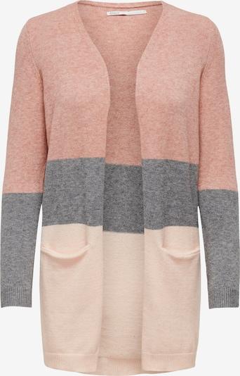 ONLY Pletena jopa | pegasto siva / roza / staro roza barva, Prikaz izdelka