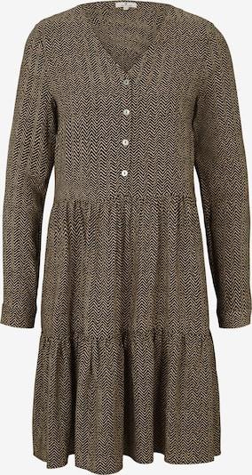 TOM TAILOR Kleid in braun, Produktansicht