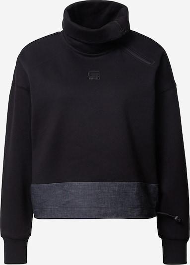 G-Star RAW Sweatshirt in de kleur Donkerblauw / Zwart, Productweergave